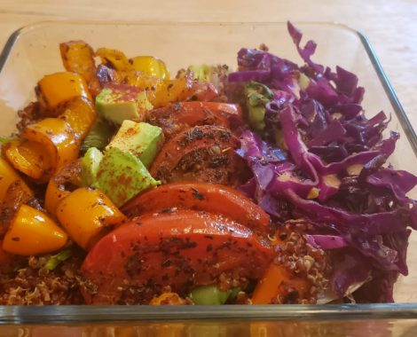 Grilled Tomato veggie meal